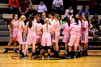 RHS Girls Basketball Pink Out